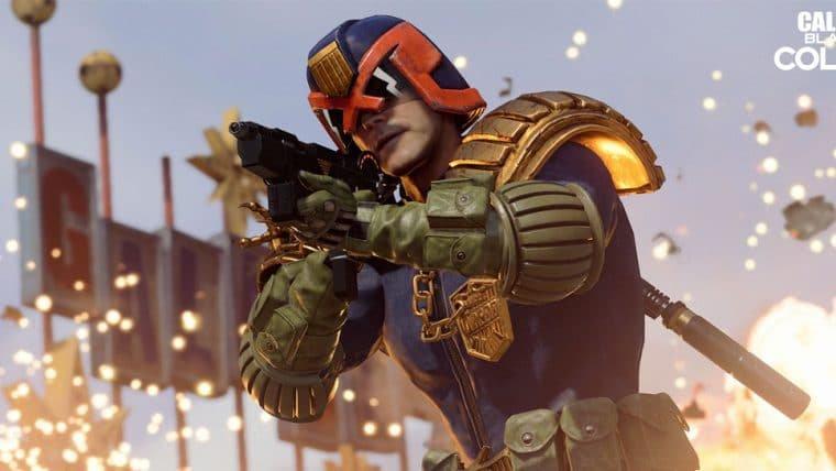Jogos de Call of Duty recebem pacote especial de Juiz Dredd