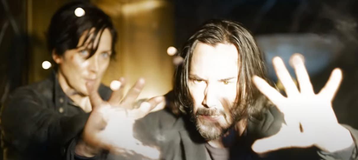 Easter eggs e referências do primeiro trailer de Matrix Resurrections