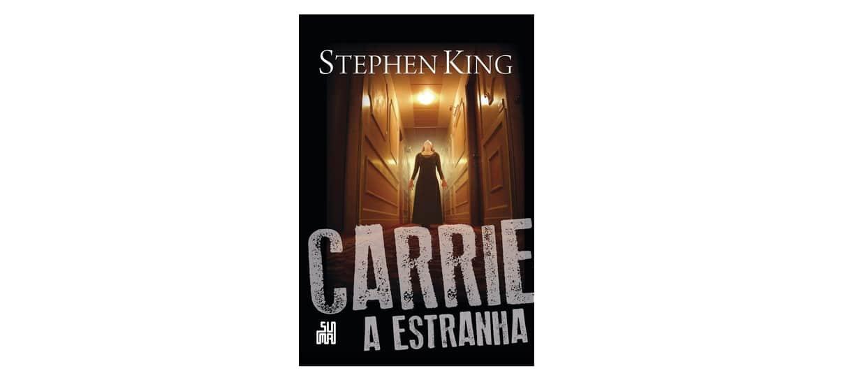 Carrie: a estranha é um dos livros da biblioteca do Stephen King