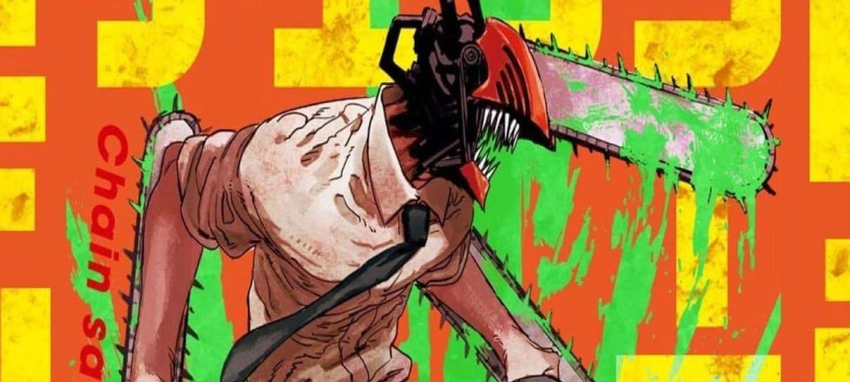 Chainsaw Man terá livro inédito ainda em 2021
