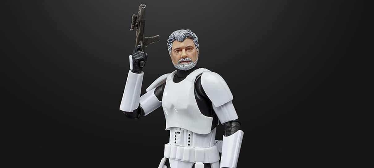 George Lucas vira Stormtrooper em novo colecionável da Hasbro
