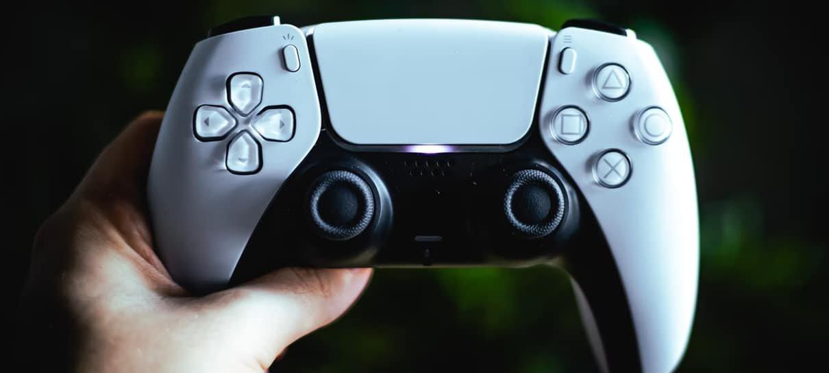 controle do playstation 5 com valor reduzido