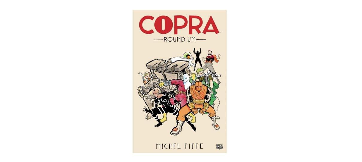 copra é uma das hqs e mangás com desconto