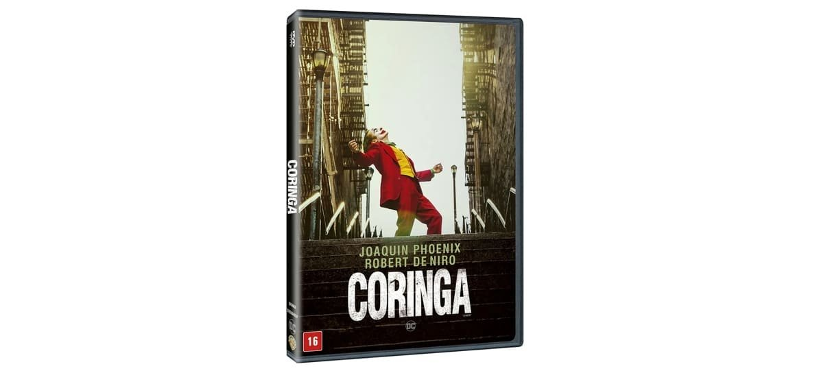 Dvd do Coringa