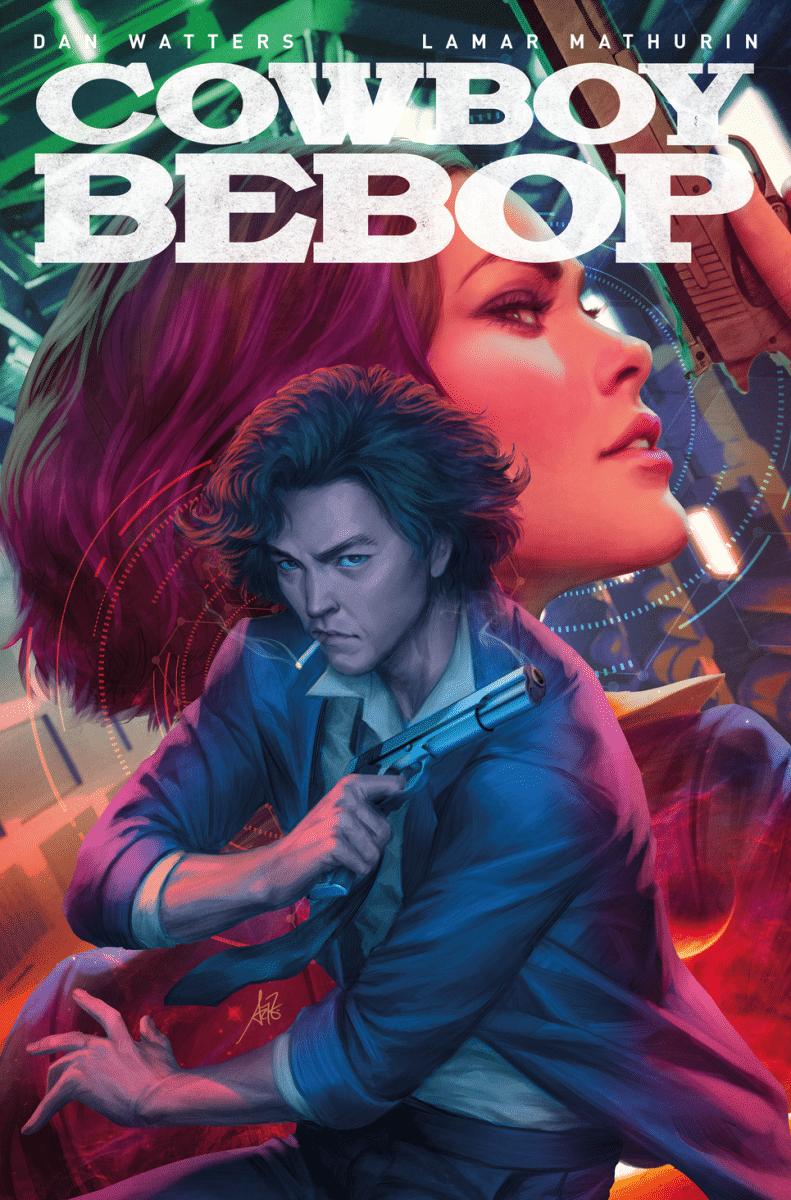 Capa da HQ Cowboy Bebop: The Comic Series (Divulgação)