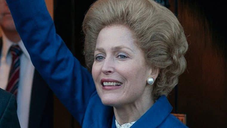 Gillian Anderson é questionada se conversou com Margaret Thatcher para papel em The Crown