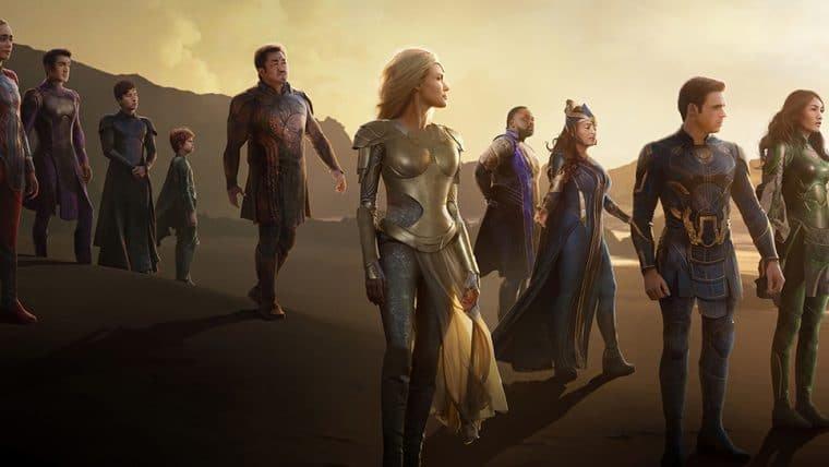 Eternos pode ser o segundo filme mais longo do Marvel Studios