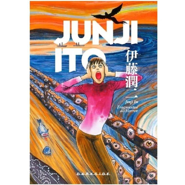 Fragmentos de horror é uma das obras de Junji Ito à venda