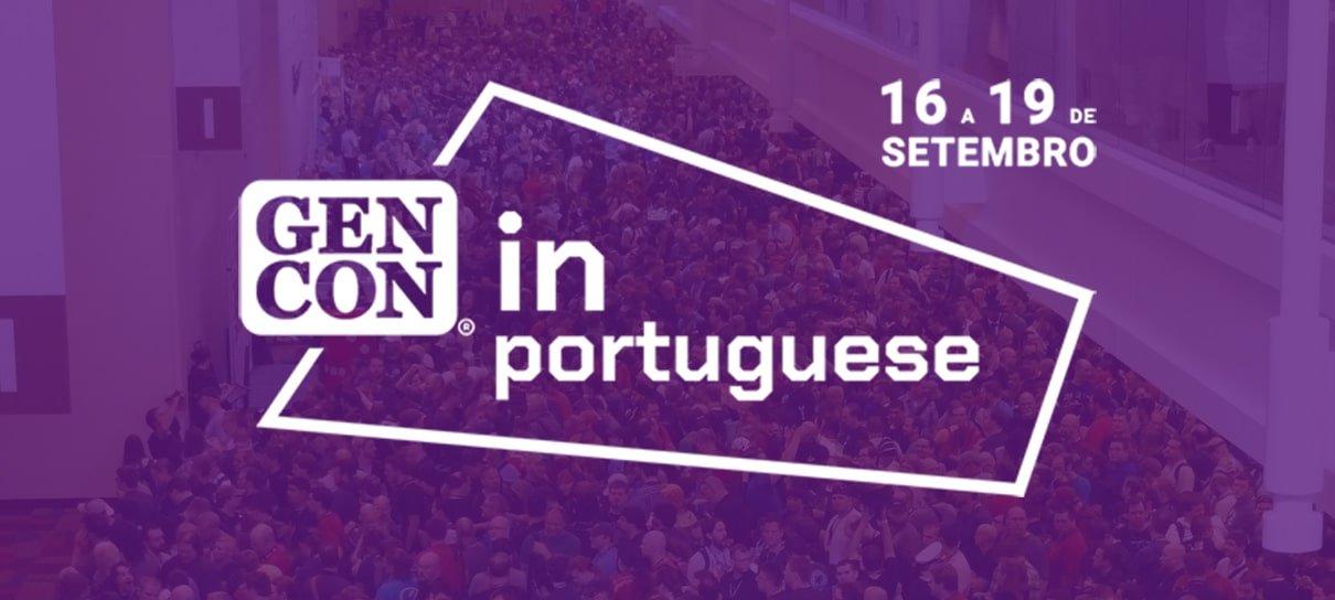 Tradicional evento de jogos de mesa, Gen Con Online terá atividades em português