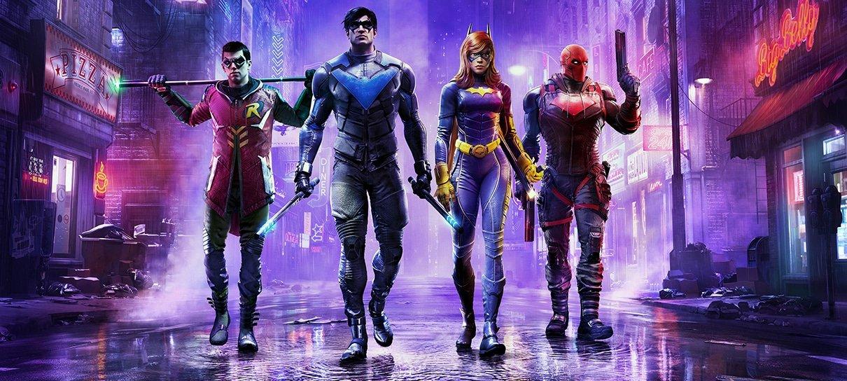 Bat Família se reúne em nova arte do game Gotham Knights