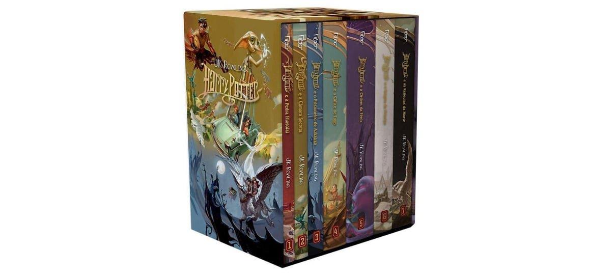Box dos livros de Harry Potter é uma das obras de grandes franquias do NerdBunker
