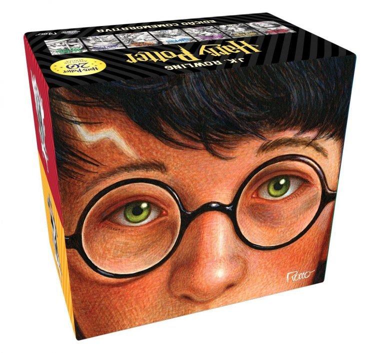 Box Harry Potter é um dos produtos com desconto no aniversario magalu do NerdBunker