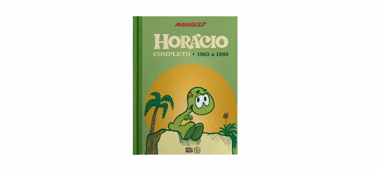 horácio é uma das hqs e mangás com desconto
