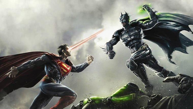 Filme animado de Injustice ganha capa e data de lançamento nos EUA