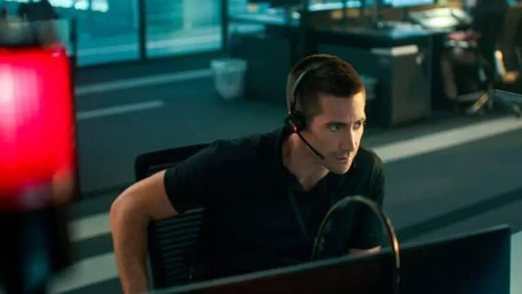 Jake Gyllenhaal tenta salvar uma vítima de sequestro em trailer de O Culpado