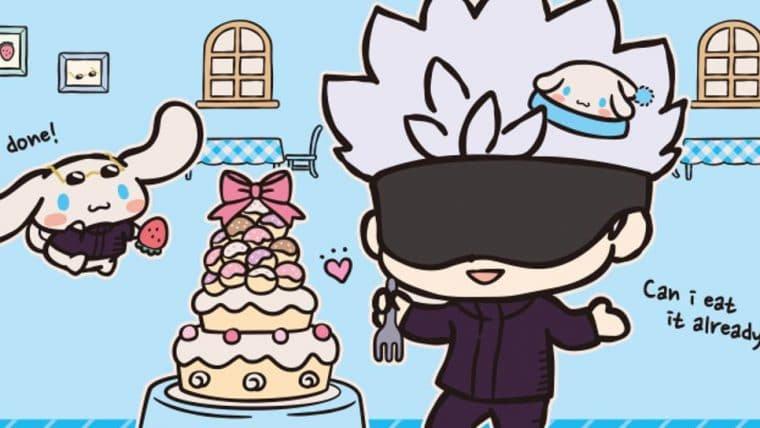 Personagens de Jujutsu Kaisen ganham versão fofa em parceria com a Sanrio