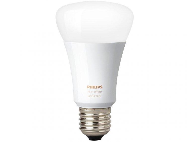 lâmpada philips é um dos itens da lista NerdBunker de como criar uma casa inteligente