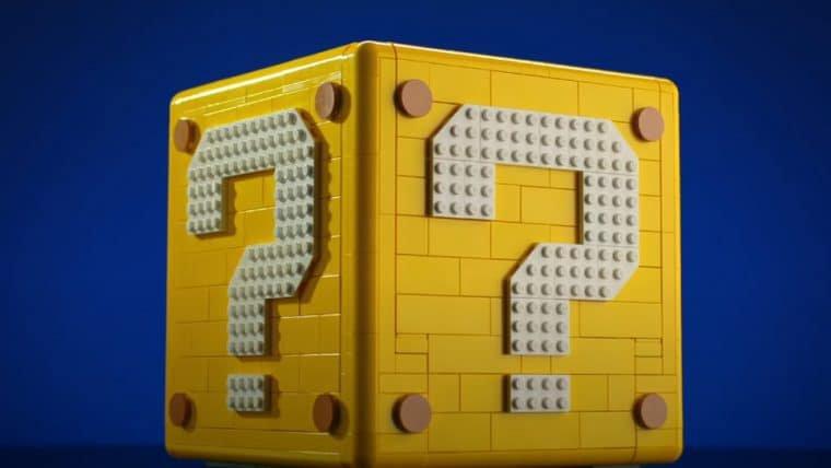 Bloco de Super Mario ganha versão LEGO com cenários de Mario 64