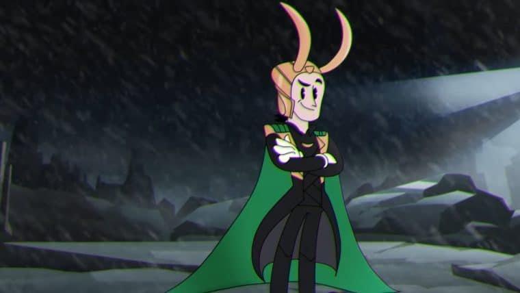 Loki ganha animação no estilo clássico da Disney em novo comercial da série