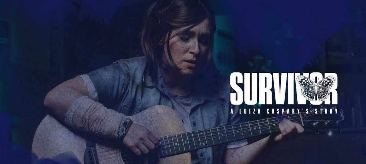 Luiza Caspary, dubladora de Ellie, anuncia álbum e curta inspirados em The Last of Us