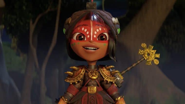 Maya e os 3 Guerreiros ganha teaser encantador e data de estreia pela Netflix