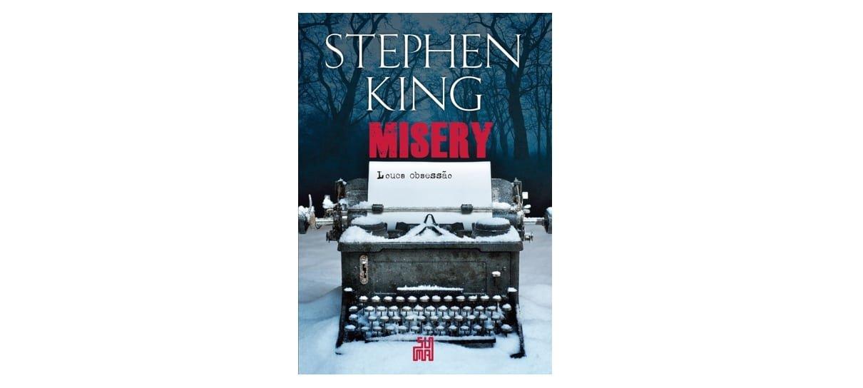 Misery é um dos livros da biblioteca do Stephen King