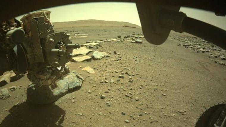 NASA confirma que Perseverance coletou com sucesso amostra de solo de Marte