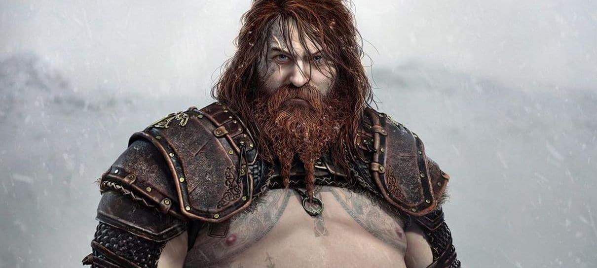 Novas imagens de God of War: Ragnarok destacam visual de Thor, Tyr e mais personagens
