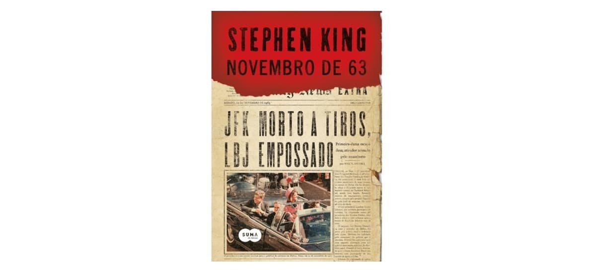 Novembro de 63 é um dos livros da biblioteca do Stephen King