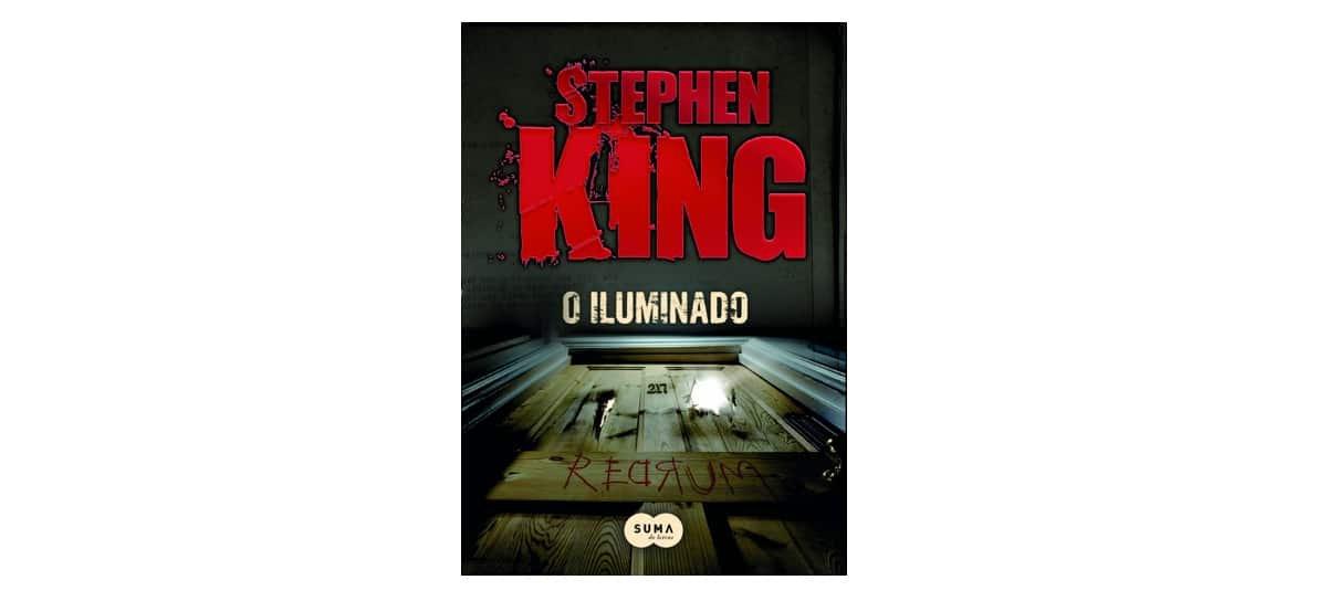 O iluminado é um dos livros da biblioteca do Stephen King