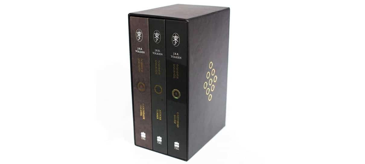 Box de O Senhor dos Anéis é uma das obras de grandes franquias do NerdBunker