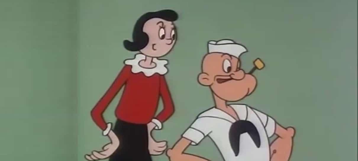 O Marinheiro Popeye, com dublagem de Orlando Drummond, estreia na PlutoTV