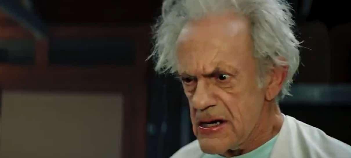 Christopher Lloyd come um picles em novo comercial live-action de Rick and Morty