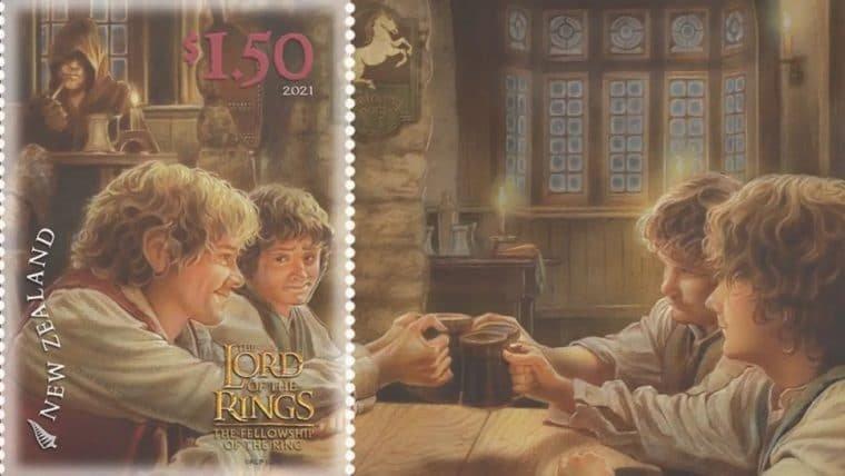 Nova Zelândia lança coleção de selos de O Senhor dos Anéis