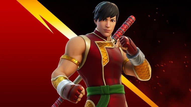 Shang-Chi, o Mestre do Kung Fu da Marvel, está no Fortnite