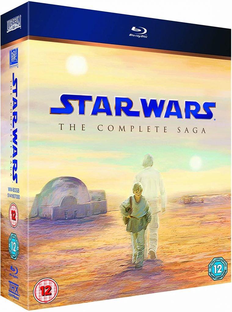 Blu-ray Star Wars é um dos itens de Star Wars para você ter em casa
