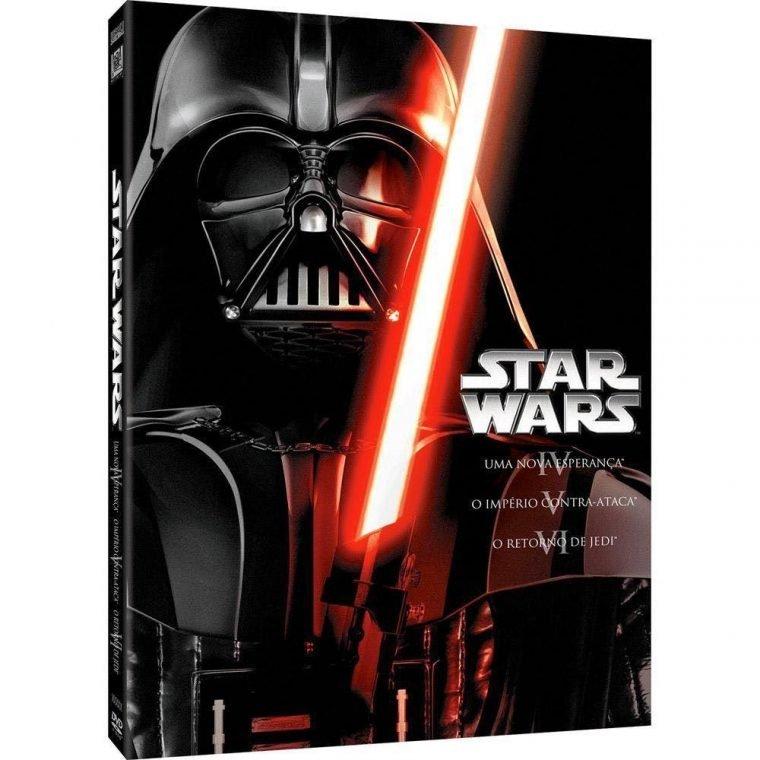 Trilogia Star Wars é um dos itens de Star Wars para você ter em casa