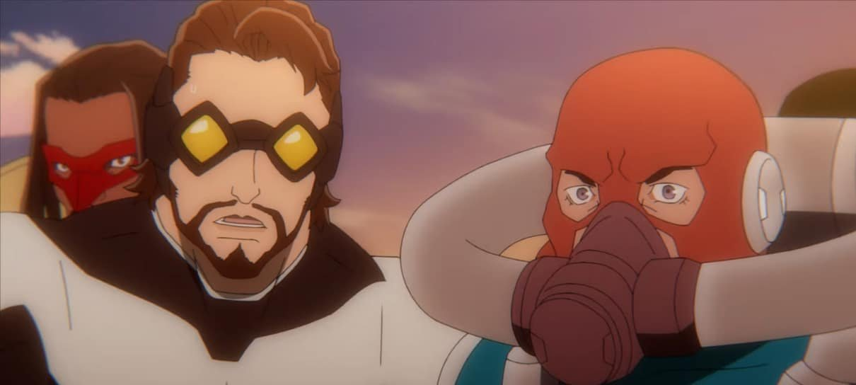 Anime de Super Crooks na Netflix vai expandir a HQ original, diz Mark Millar