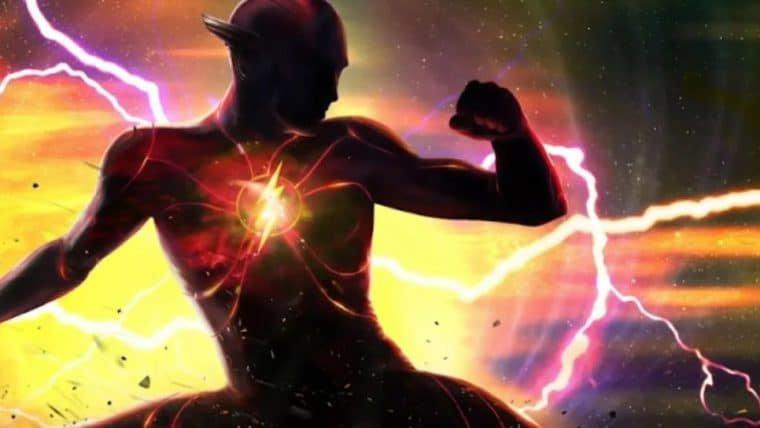 Andy Muschietti divulga arte intrigante que mistura os logos de Flash e Batman