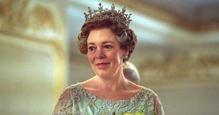 Olivia Colman em The Crown