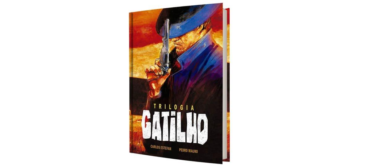 trilogia gatilho é uma das hqs e mangás com desconto