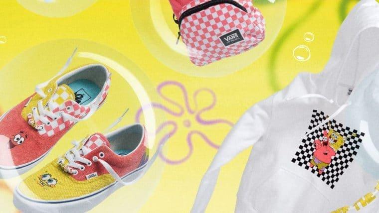 Vans lança coleção inspirada em momentos icônicos de Bob Esponja