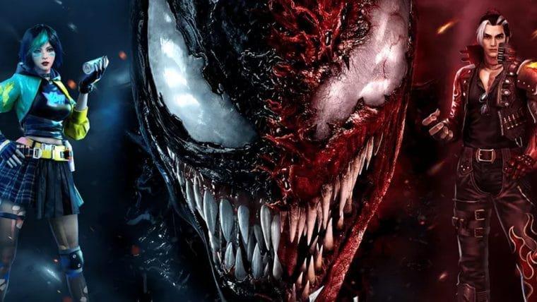 Venom: Tempo de Carnificina vai ganhar evento especial no Free Fire