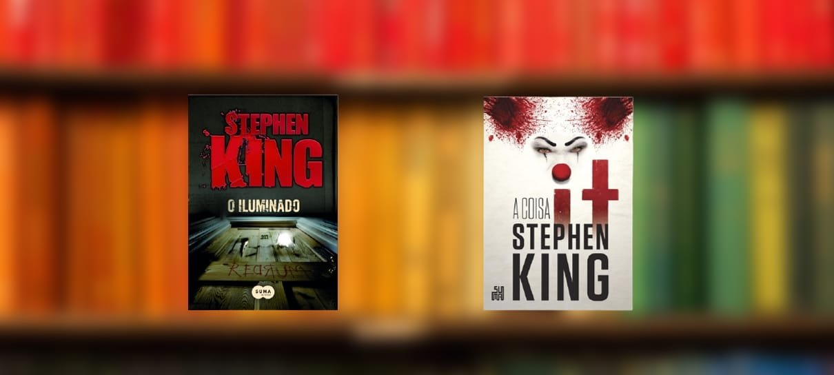 O Iluminado, It e outros 6 livros para você completar a sua biblioteca do Stephen King