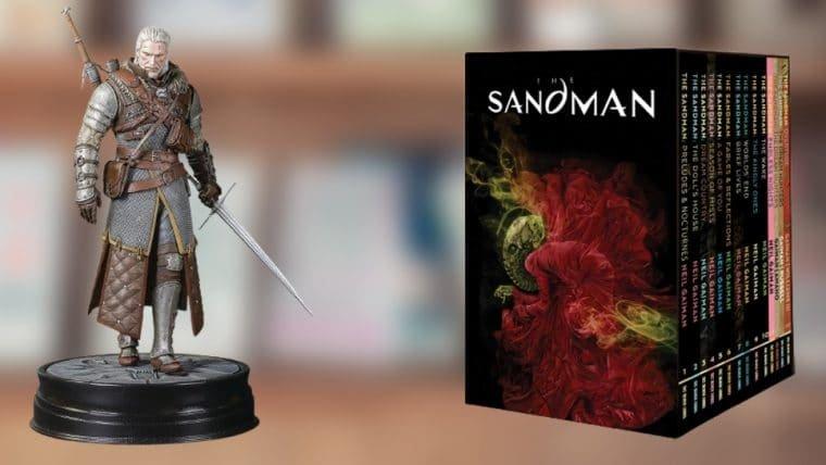 Confira uma seleção de produtos de Cowboy Bebop, Sandman e outras séries da Netflix