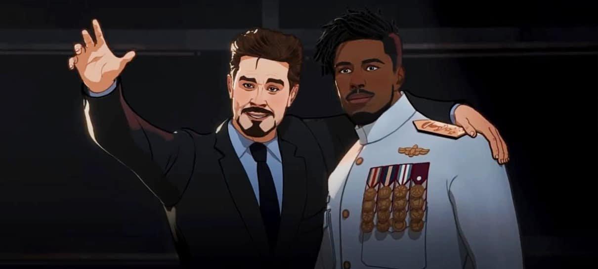 Killmonger salva Tony Stark de atentado dos Dez Anéis em teaser de What If...?