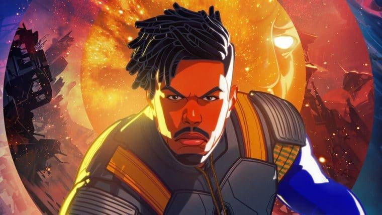Marvel revela novo pôster de What If…? com Killmonger, vilão do Pantera Negra
