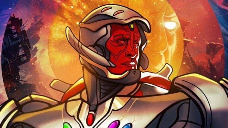 Ultron aparece com corpo do Visão e Joias do Infinito em novo cartaz de What If…?