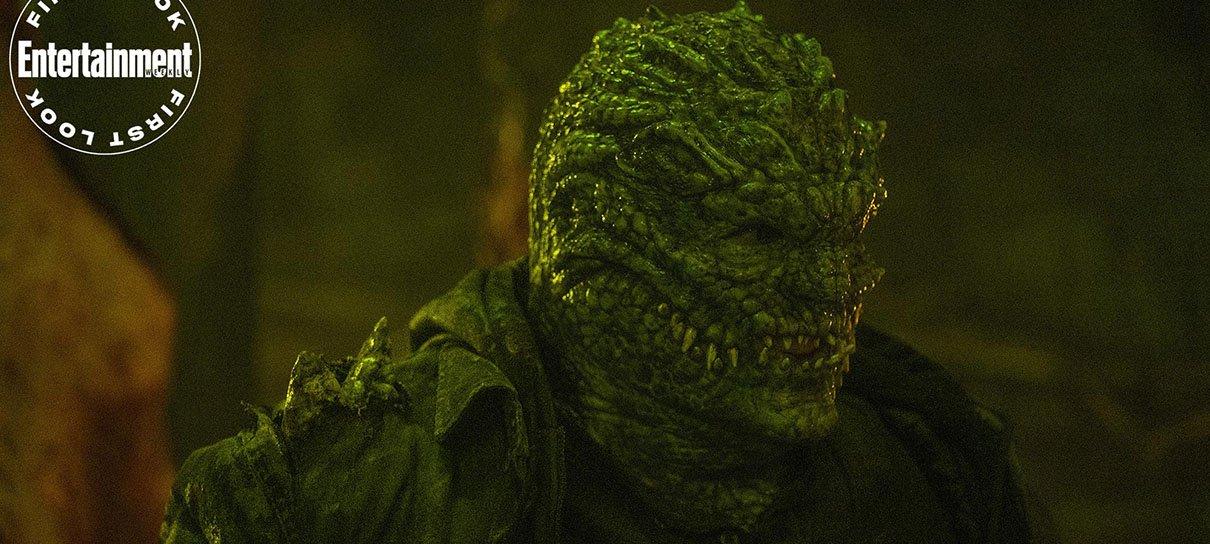 Fotos mostram visual do Crocodilo na série da Batwoman