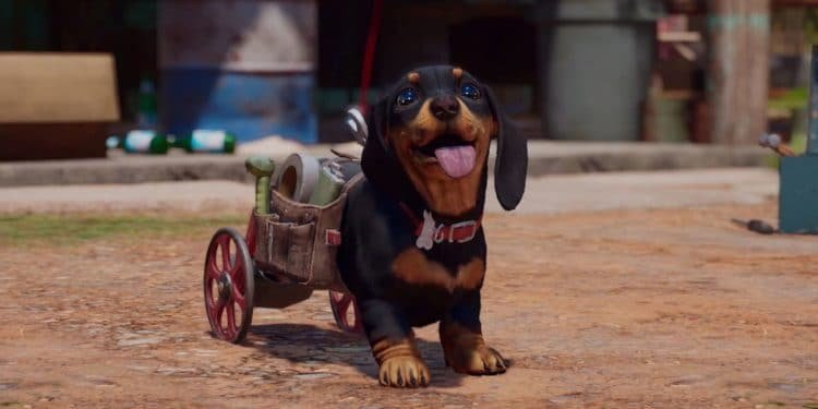 Chorizo, o cãopanheiro com rodinhas em Far Cry 6